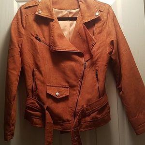 Moto Suede Jacket